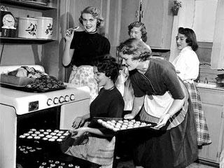 [baking+women]