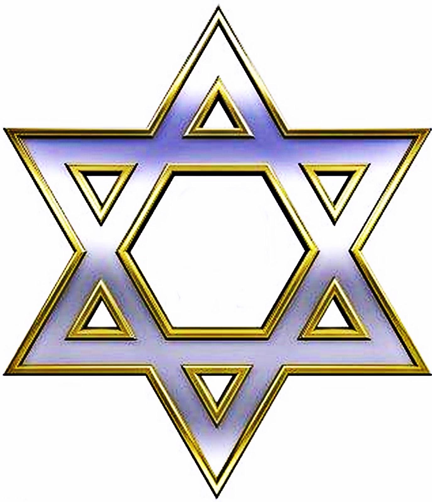 -chrome-con-el-s-mbolo-de-oro-marco-juda-smo-religioso--estrella-de ...