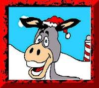 its time to lick the donkey - Dominick The Christmas Donkey Lyrics