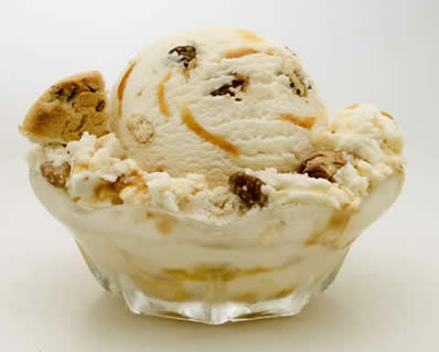 ICE CREAM RECIPES: Butter Pecan Ice Cream