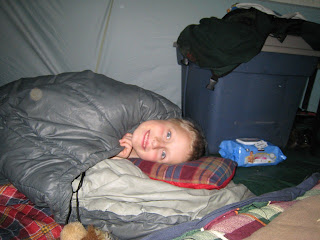 Will in Spleepingbag