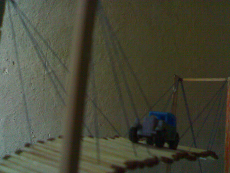 homemade suspension bridge 3
