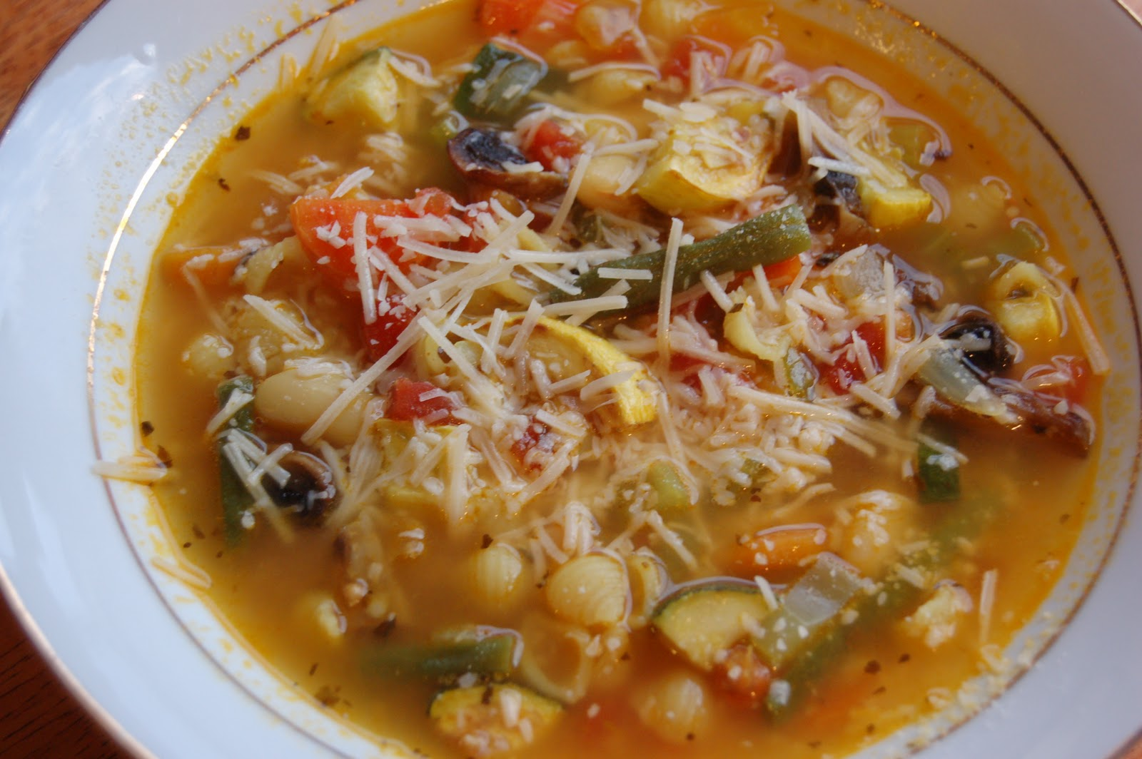 The Sparitarian: Roasted Vegetable Minestrone