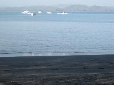 Playas de Arena negra Costa Rica