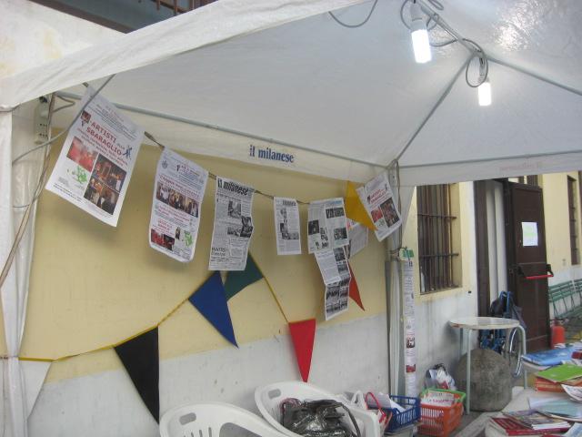 Stand che viene utilizzato dall'ACR alle SAGRE.. San Cristoforo 2009!