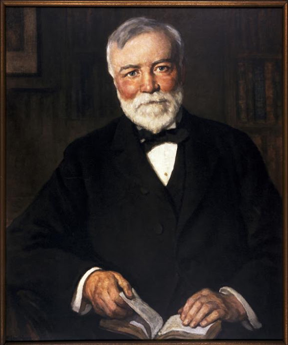 a biography and life work of andrew carnegie a scottish born american philantropist