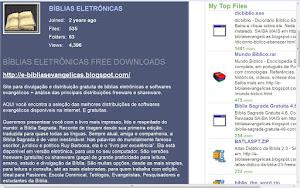 Bíblias Eletrônicas STORAGE >>>
