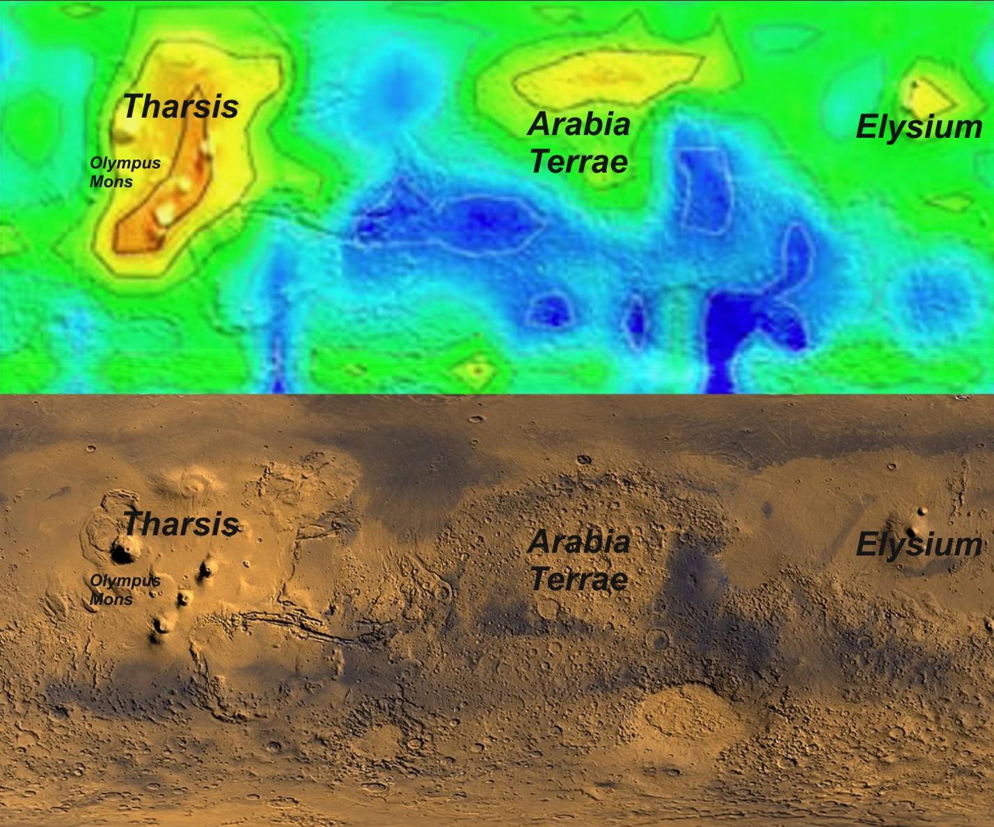 Resultado de imagen de El misterioso metano de Marte