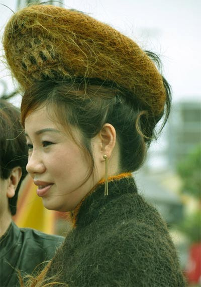 awesome crazy hair style