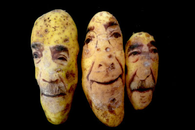 Weird and Ugly Potato Portraits