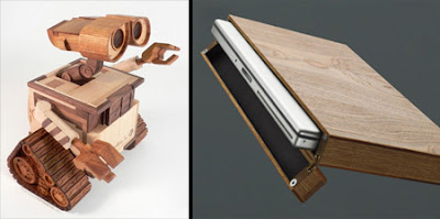 Collection Of Awesome Gadgets And Interesting Product Designs Made Out Wood