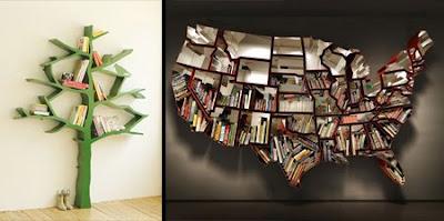 Creative And Unusual Bookshelves UNUSUAL THINGs
