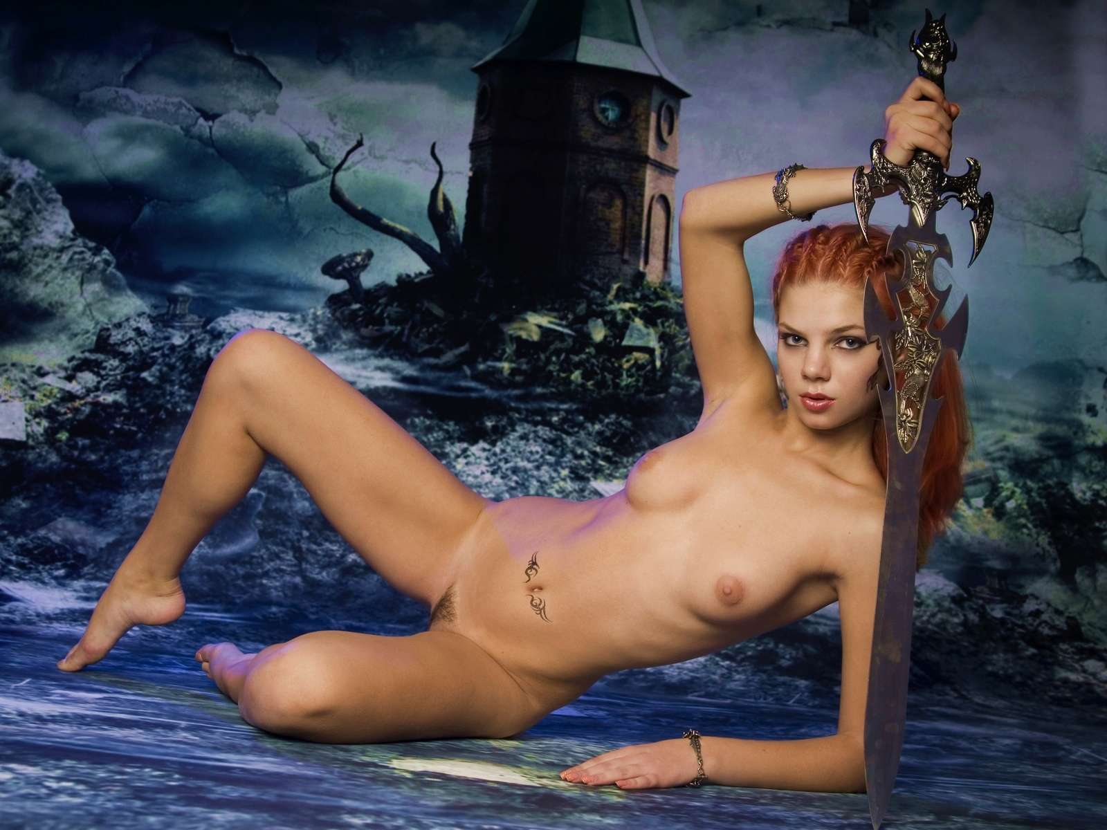 Goblin queen sexy erotic scene