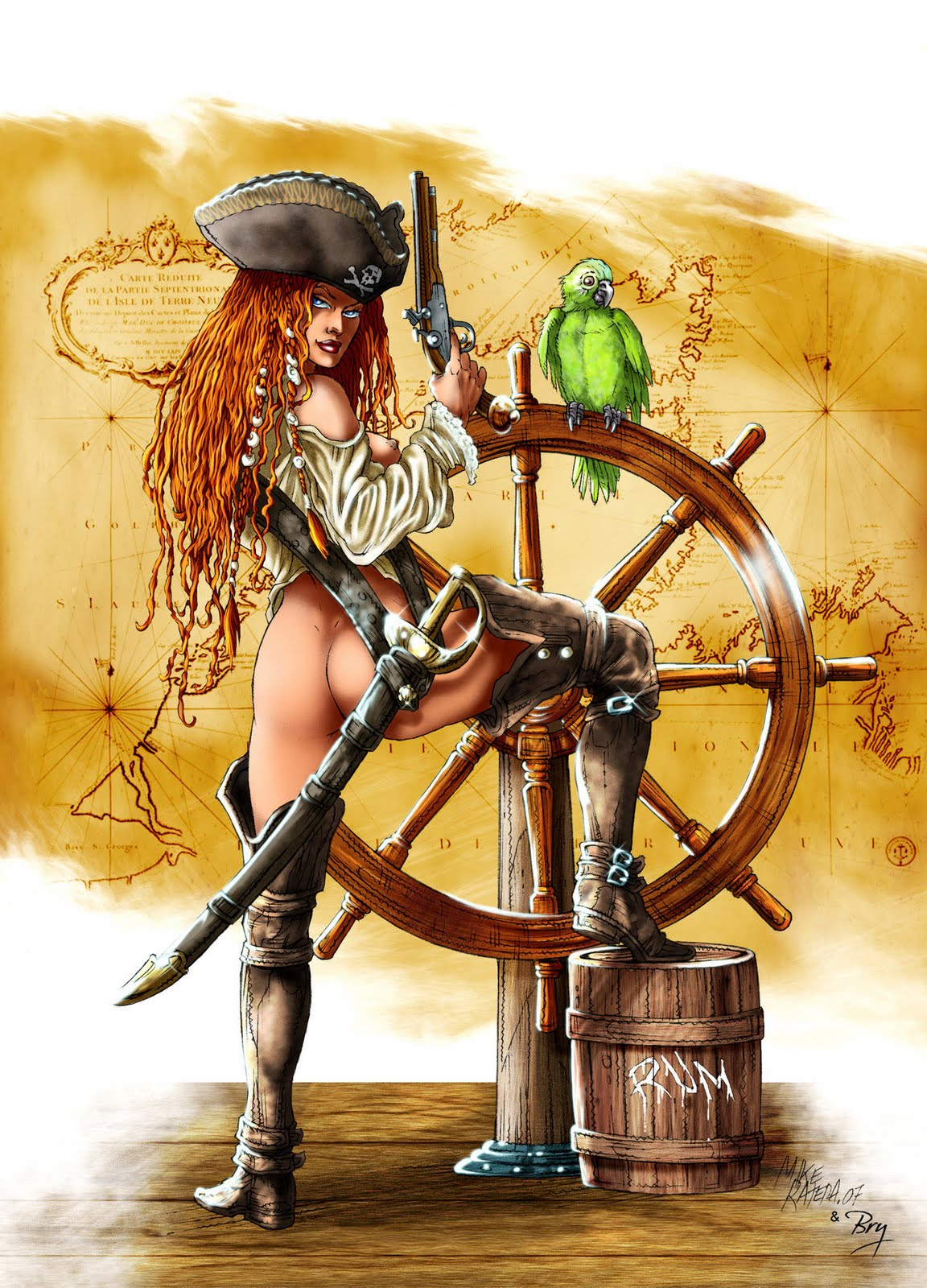 Nude pirate women fantasy art hentai tubes