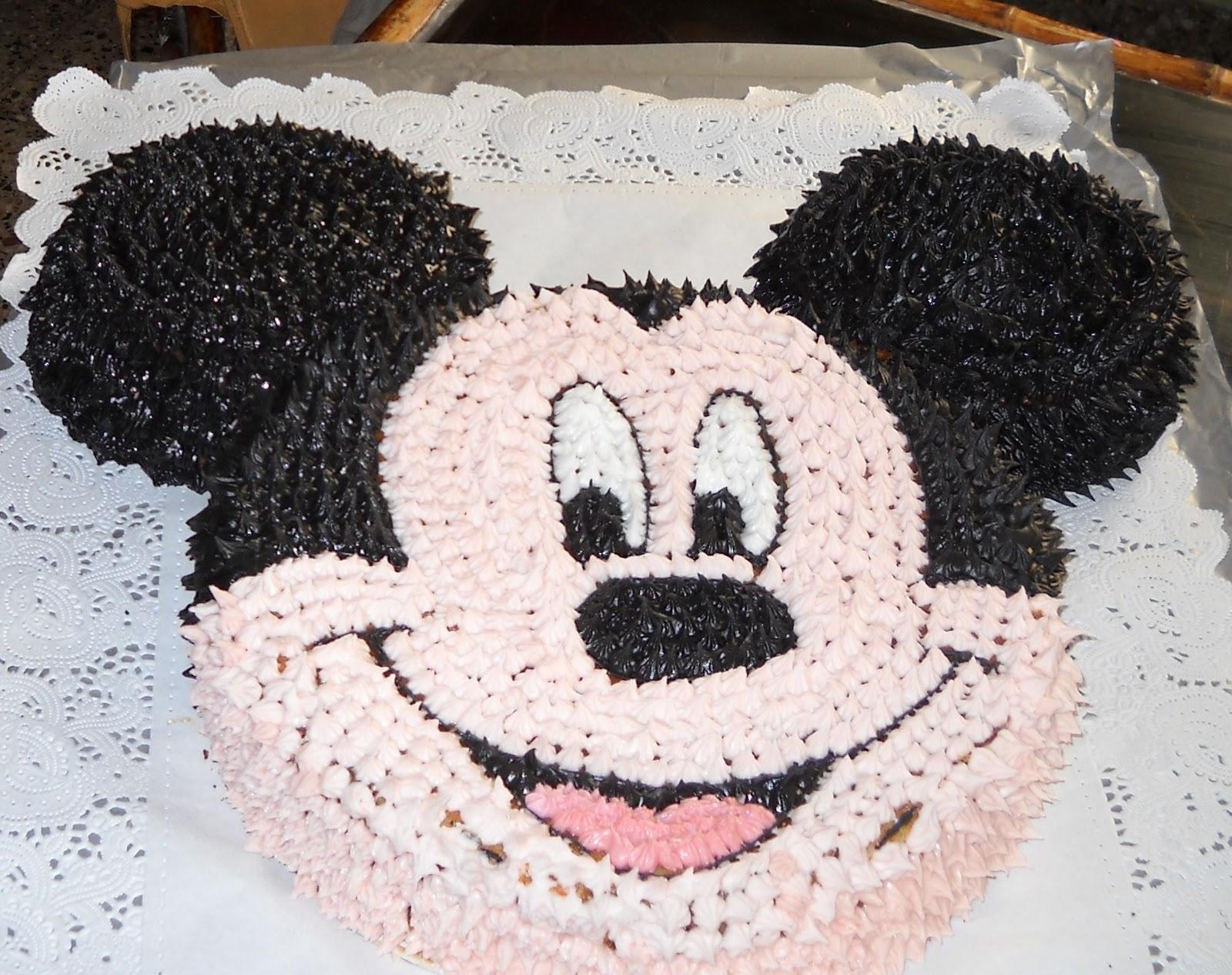 Pamela Bruchez: torta de mickey mouse