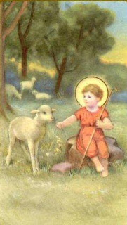 Young Jesus and Lamb
