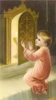 Child and Blessed Sacrament