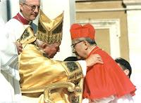 Cardinal Thuan and JPII