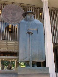 Statue of Fr. Damien