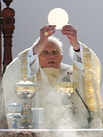 Pope Benedict and Holy Eucharist