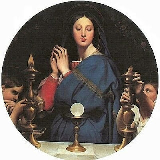 Ingres Virgin of the Eucharist