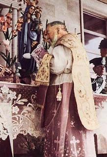 Last Mass Padre Pio