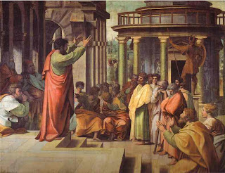 Paul Preaching in Athens by Raphael