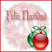 Feliz Navidad ecg