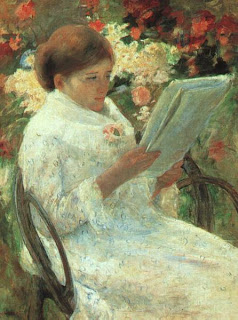 Reading in the Garden