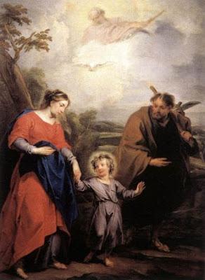 The Holy Family and the Holy Trinity