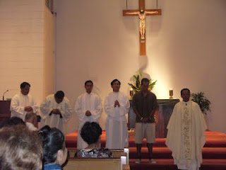 Fr. Peter and Seminarians