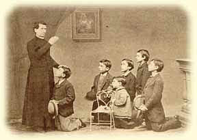 Don Bosco and Boys