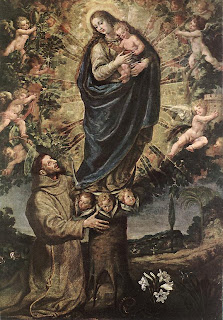 Vision of St. Francis