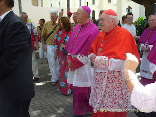 Bishop Silva and Cardinal Danneels