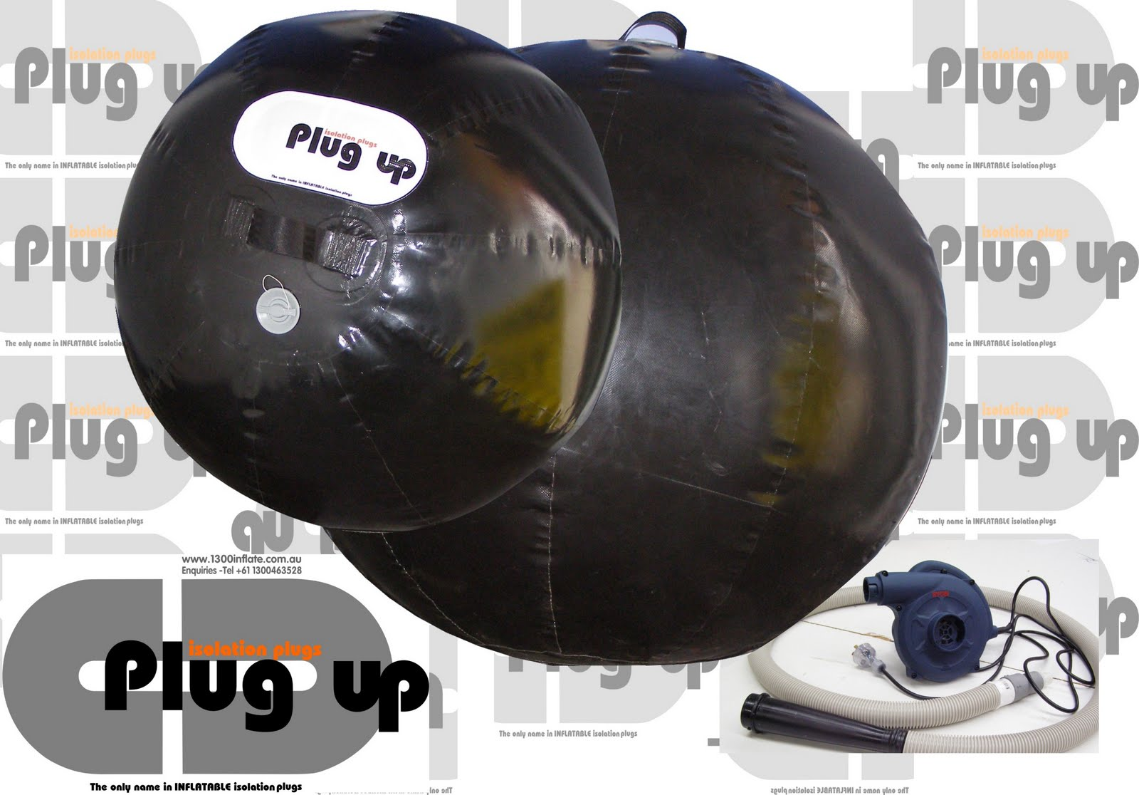 Giant inflatables industrial solutions inflatable pipe