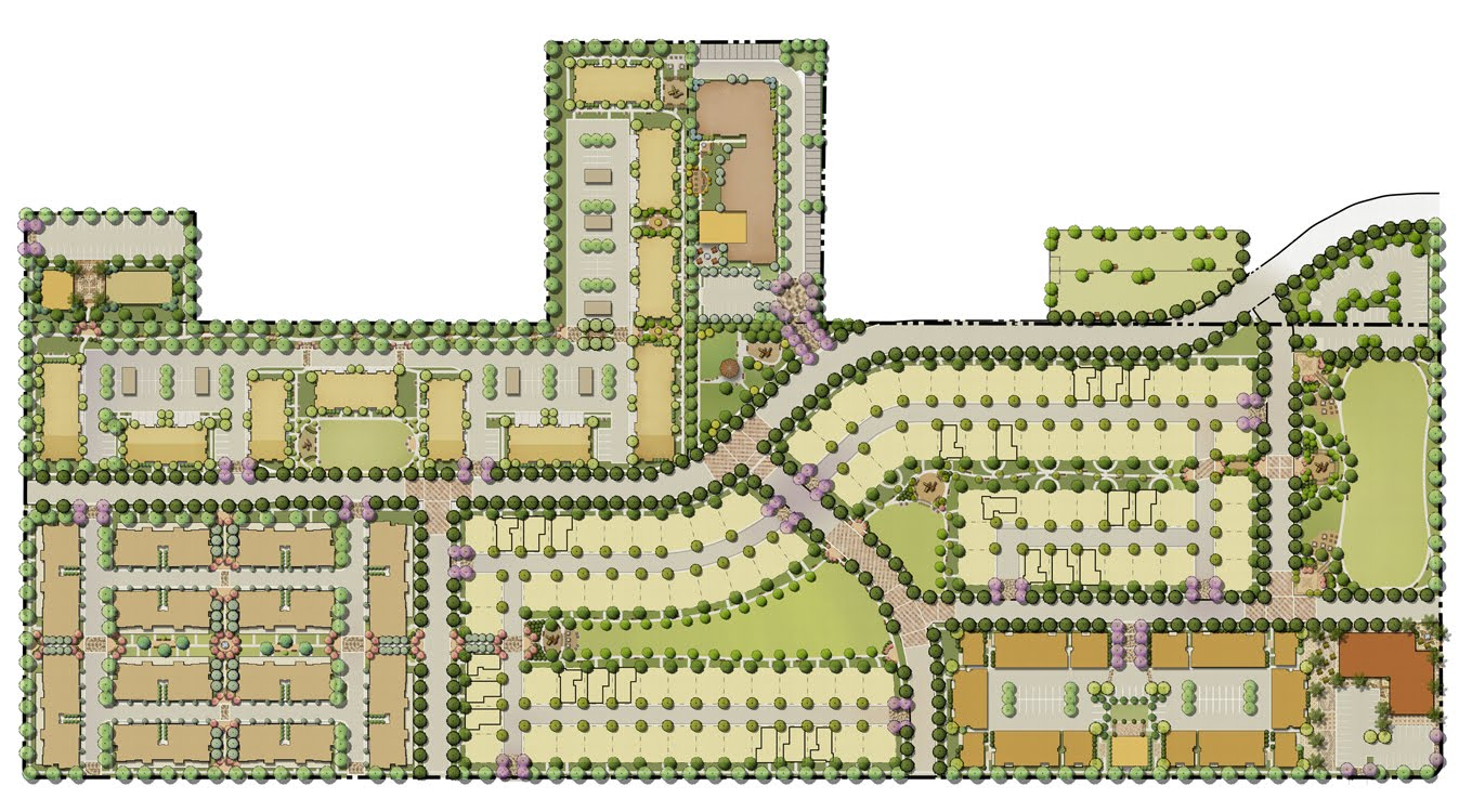 Master Site Plan Rendering