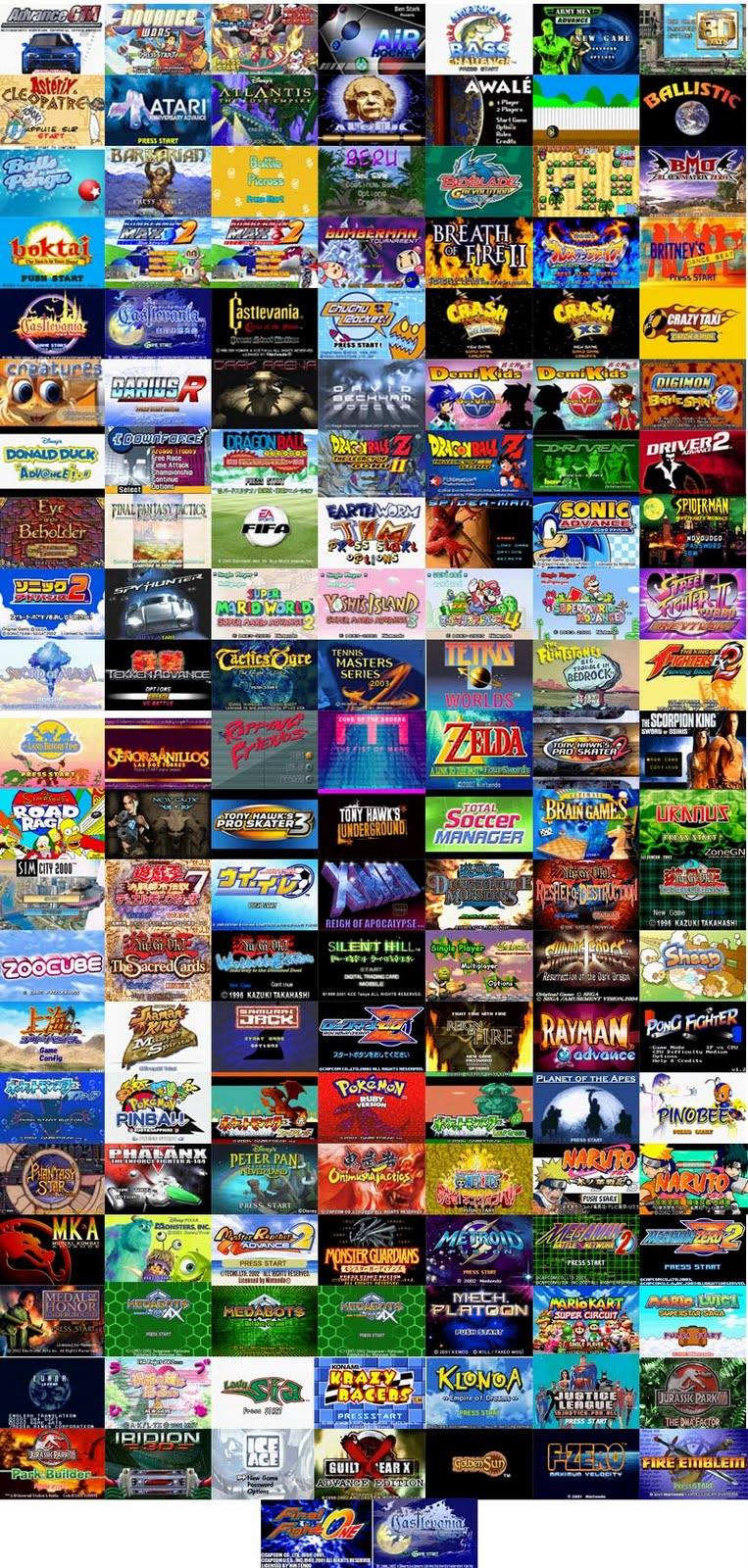 Download De Jogos Para Visual Game Boy Advance