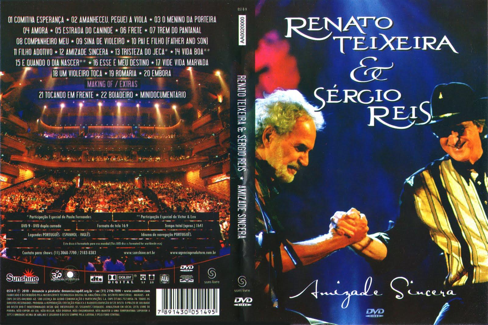Renato Teixeira & Sergio Reis Amizade Sincera DVDRip + DVD-R Renato Teixeira  2526 S 25C3 25A9rgio Reis   Amizade Sincera