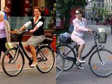 Najbardziej szykowna łódzka rowerzystka w maju