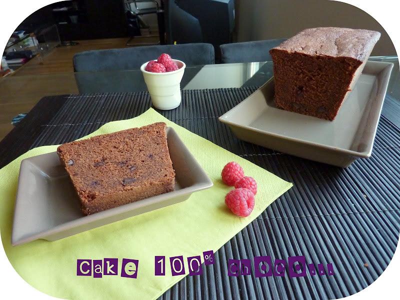 Cake Choco Au Son Davoine Sans Oeuf