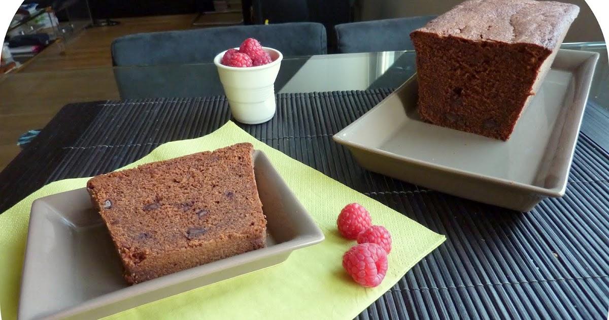 Cake Moelleux Pepites Chocolat Poire