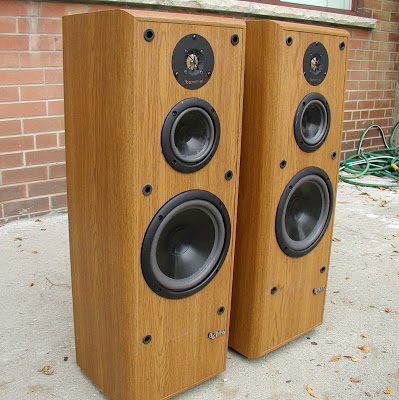 Seventies Stereo Infinity Reference Fours Vintage 1990