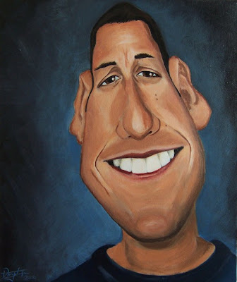 brad pitt caricature. Cool celebrities caricatures