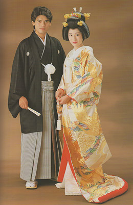 Kimono Dress on Kimono Wedding Dress