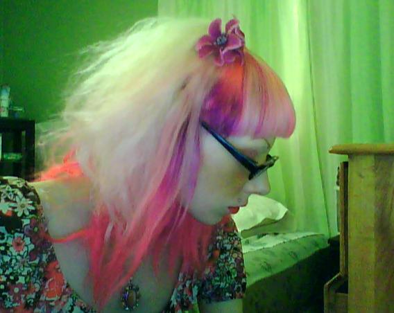 Splat Hair Dye. Hair dye: Lusty Lavender