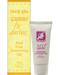 Crazy girl desensitizing anal ease gel,wild cherry