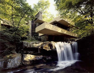 water fall house