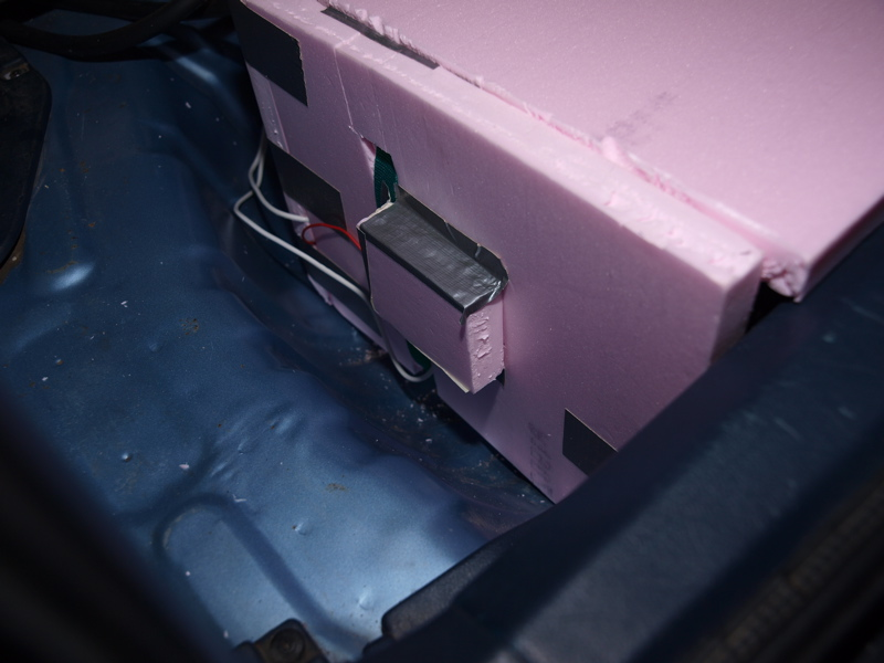 Putting Car Battery In Hot Water