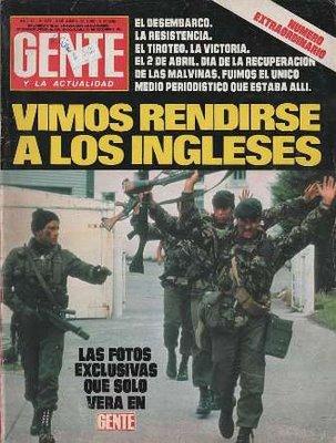 Muy poco tico la guerra de malvinas y la falsa for Revistas del espectaculo argentino