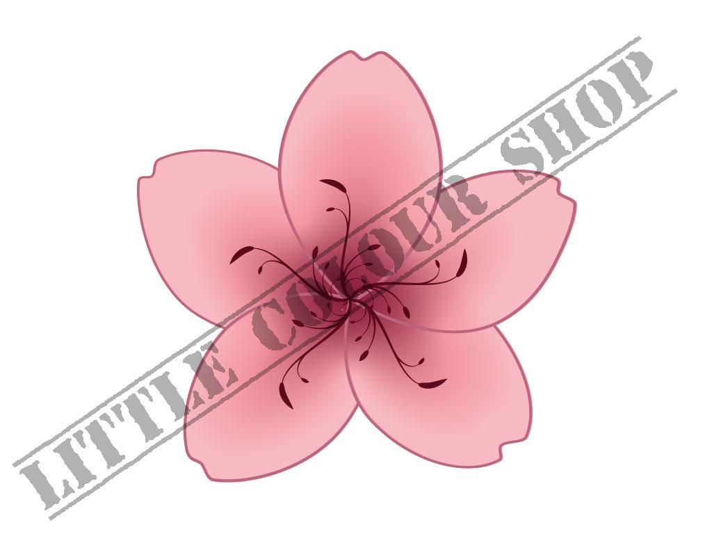 Bunga Sakura Kartun A K Binfo